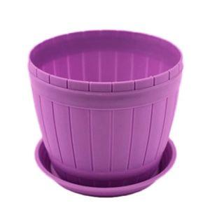 JARDINIÈRE - BAC A FLEUR XM1598-Pot de Fleurs Plastiques Violet Grande avec