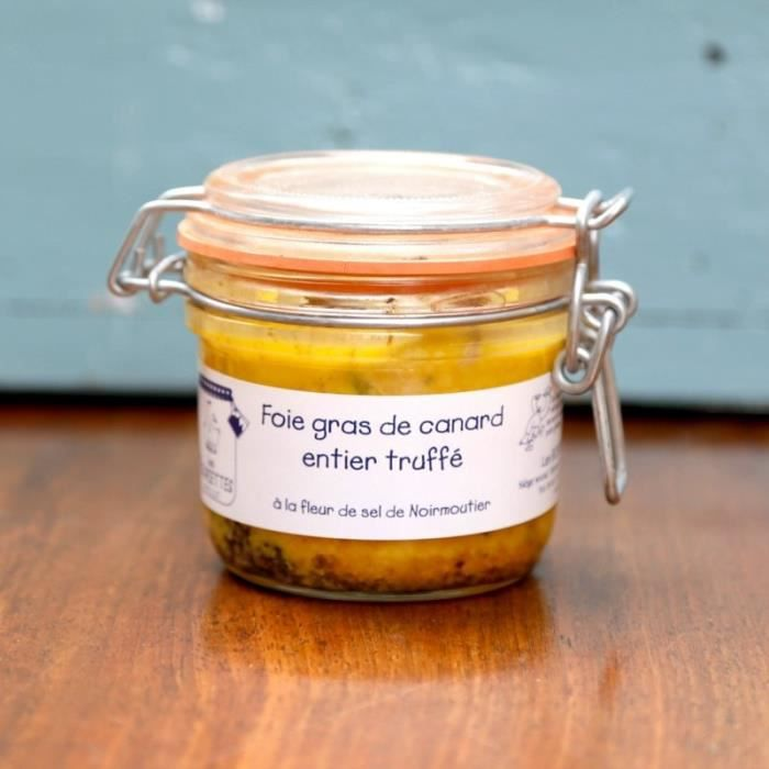 foie gras de canard entier truffé 100g