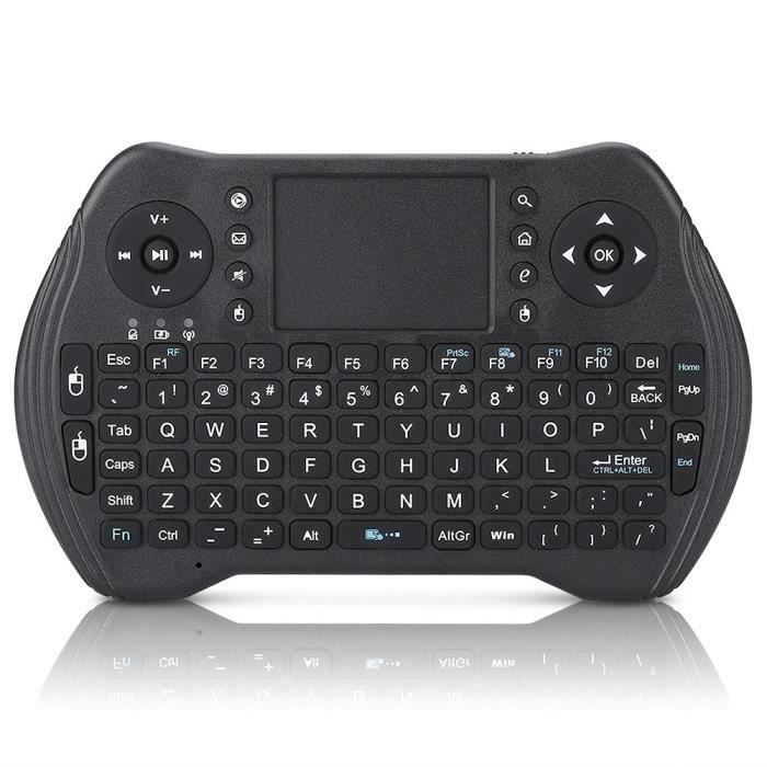 Clavier sans fil Air Mouse Touchpad Télécommande pour Android TV Box (électricité sèche) My09599 Ma70813