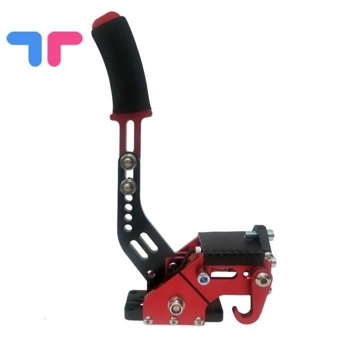 Pièces Auto,Système de frein à main 14bit Hall capteur USB SIM pour jeux de course T300 G29-g27-g25 PC - Type Handbrake red 2