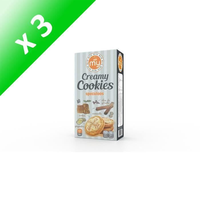 [LOT DE 3] My creamy cookies speculoos 150g