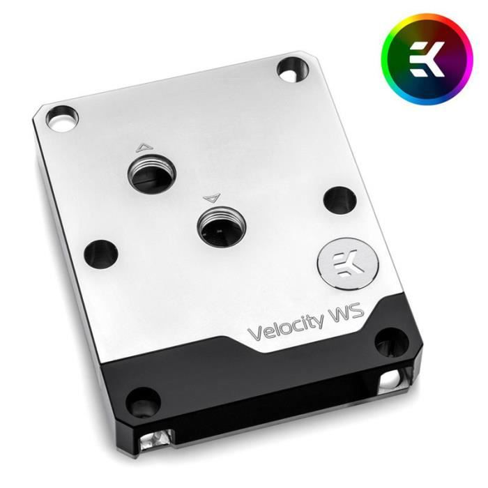 EK Water Blocks EK-Velocity WS - Narrow ILM 0,000000 Noir