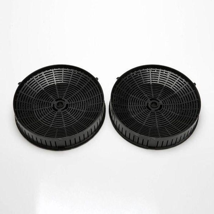 Filtre à charbon (x2) pour hotte Elica SHIRE / STRIPE / MAJESTIC / BLOOM / BELT / HIDDEN / ELLE