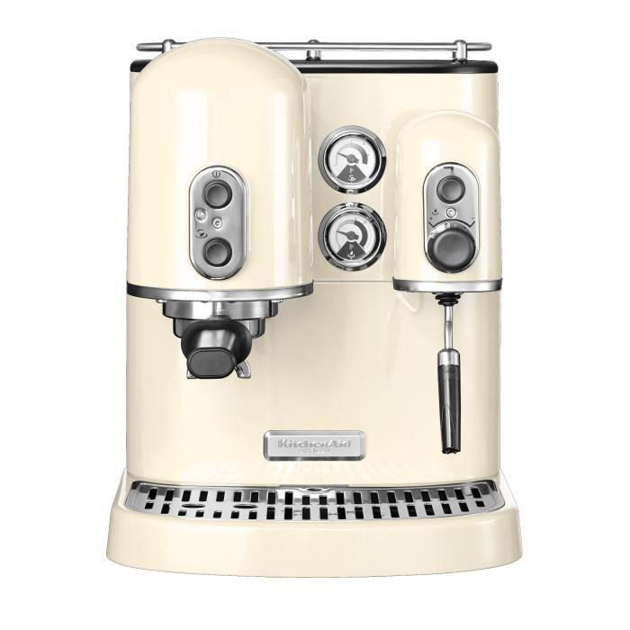 KITCHENAID - Machine à expresso Crème 5KES2102EAC