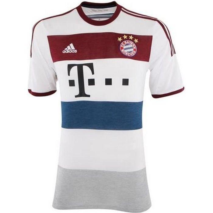 Maillot Officiel Extérieur Homme Bayern de Munich Saison 2014/2015