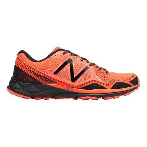 Chaussures New Balance 910 v3 Trail orange gris foncé