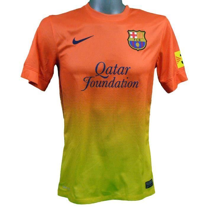 Maillot extérieur FC Barcelone 2012/2013 Iniesta