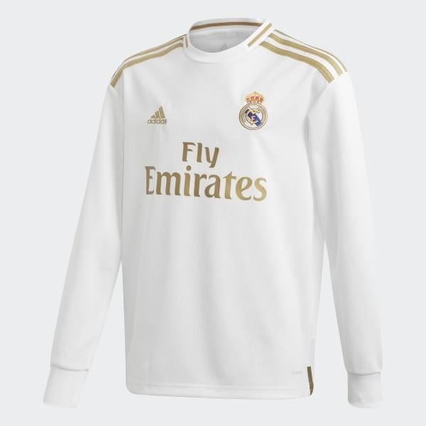 Maillot domicile manches longues junior Real Madrid 2019/20