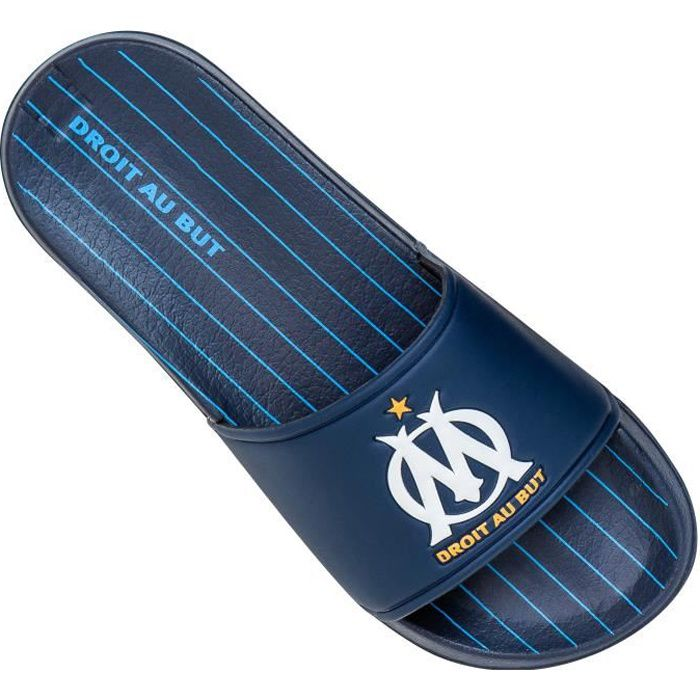 Mules OM - Collection officielle OLYMPIQUE DE MARSEILLE - Taille Homme 43