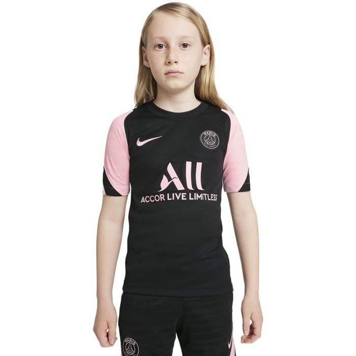 Maillot Nike Psg Strike Away 2021-22 noir / rose enfant