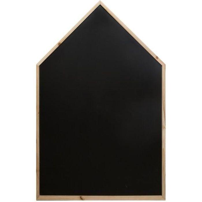 Maison ardoise coloris noir - 75 x 116 cm