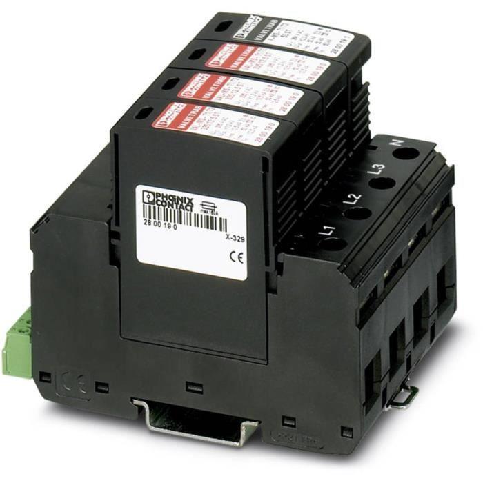 Parafoudre Phoenix Contact VAL-MS-T1-T2 335-12.5-3+1-FM 2800183 12.5 kA