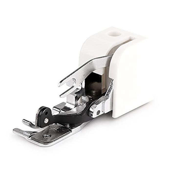 Côté du pied- surjeteuse Machine à coudre Accessoire de fixation Pied