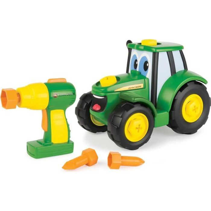 TOMY Tracteur Build-A-Johnny John Deere