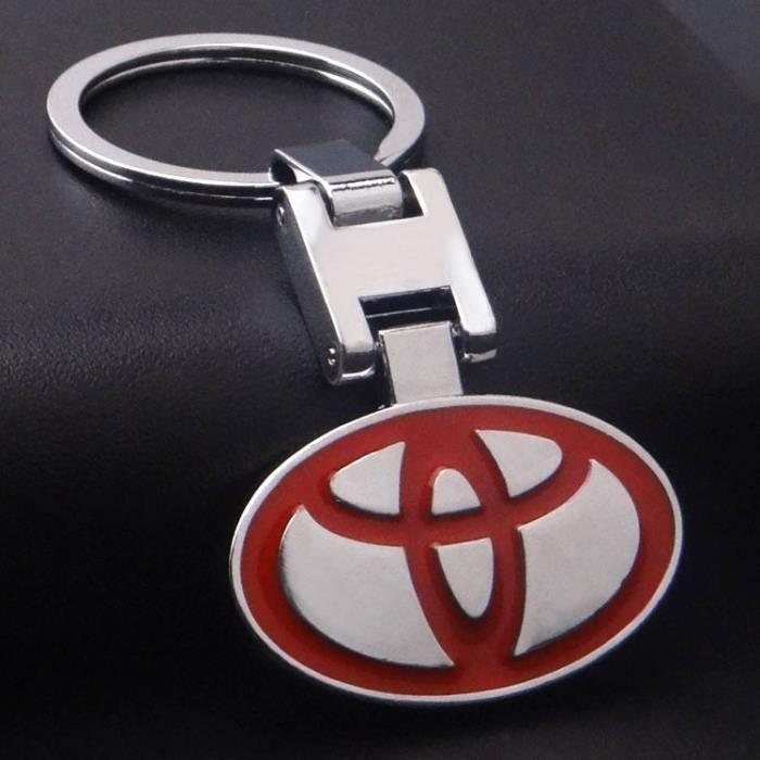 KING-WOW® Porte clé Toyota en métal