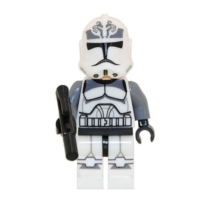 Mini figurine compatoble lego star wars clone fig342 - Personnage star wars lego ...