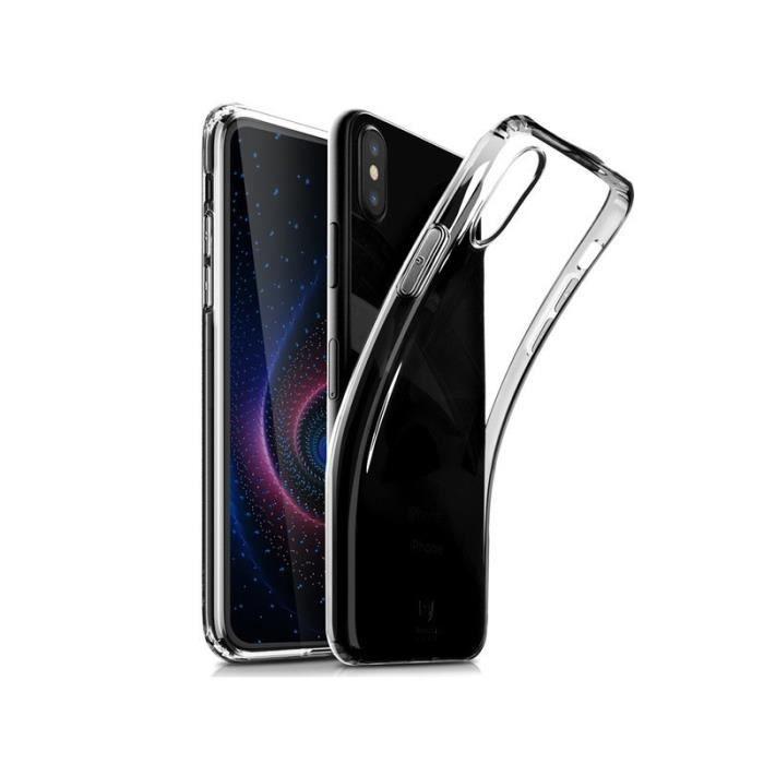 Coque silicone transparente pour Huawei P20 lite