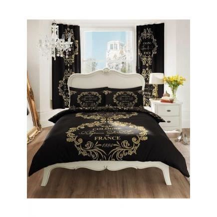 paris parure de lit 90cm achat vente parure de drap cdiscount. Black Bedroom Furniture Sets. Home Design Ideas