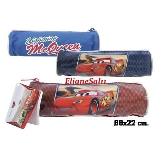 trousse ronde bleu cars flash mcqueen disney achat. Black Bedroom Furniture Sets. Home Design Ideas