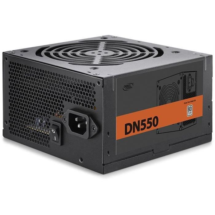 ALIMENTATION INTERNE DEEPCOOL - DN550 (80 Plus) - Alimentation PC - DP-