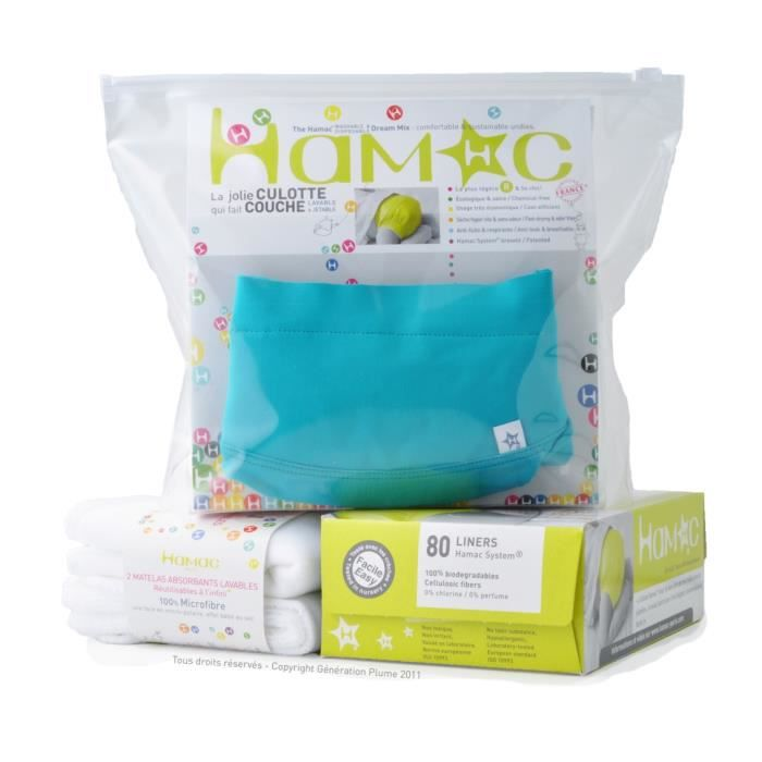 Kit couches lavables hamac coton bio bondi beac achat for Pampers couche piscine
