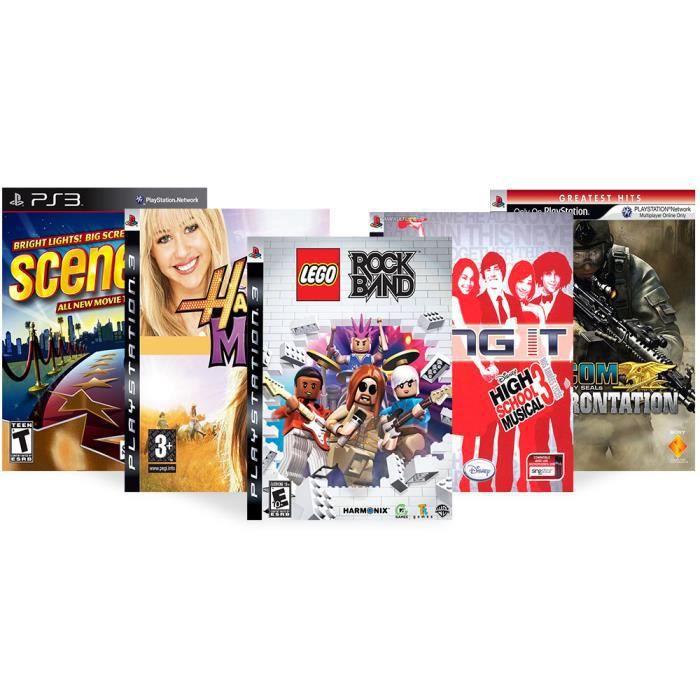 JEU PS3 Pack 5 jeux musicaux - PS3