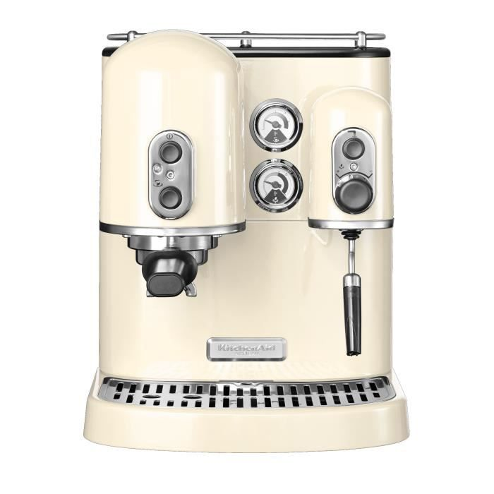 kitchenaid machine expresso cr me 5kes2102eac achat vente machine caf cdiscount. Black Bedroom Furniture Sets. Home Design Ideas