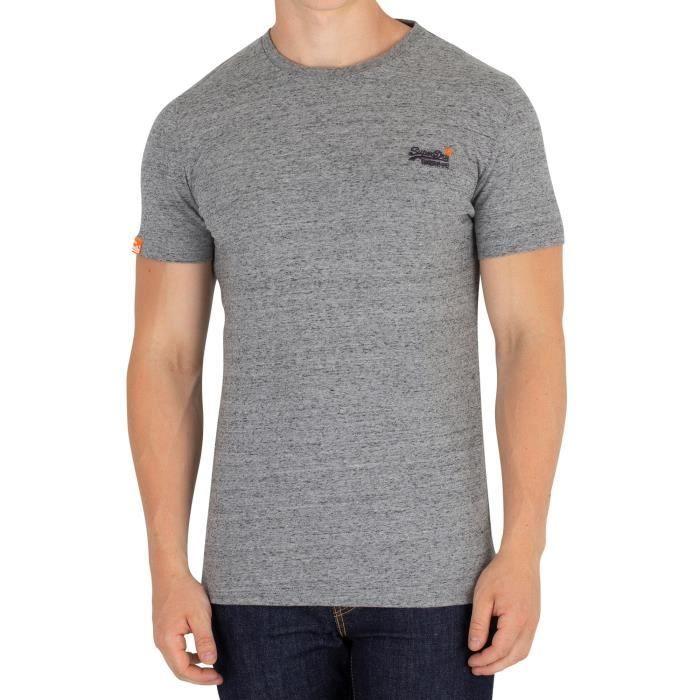 Optique Neuf avec Étiquette Superdry Neuf Homme Camouflage en Relief T-Shirt