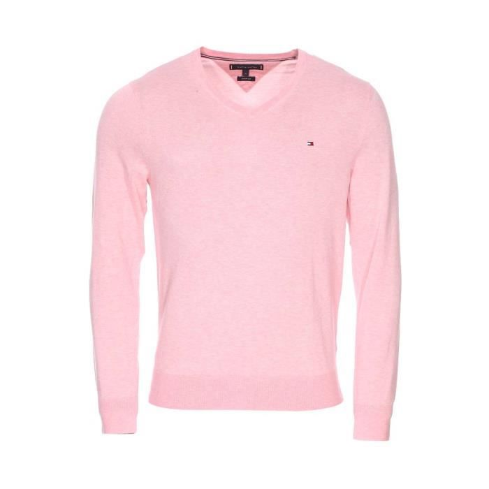 Tommy Hilfiger - pull Rose - Achat / Vente
