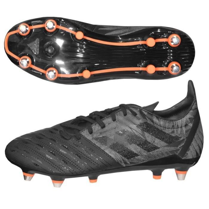 Chaussures rugby Adidas Malice SG noire Prix pas cher