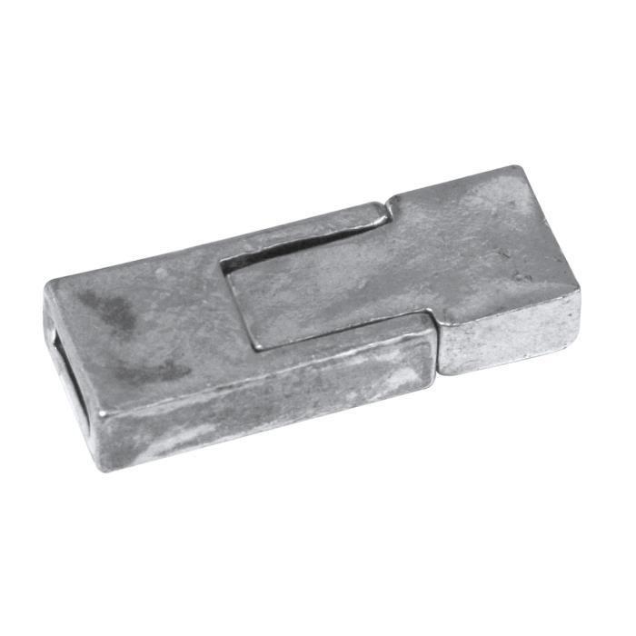 36 sets Argent Antique serrure clé//interface Toggle Fermoir Bracelet Connecteurs
