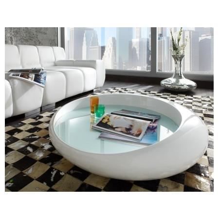 table basse design blanc laqu cascada achat vente table basse table basse design blanc la. Black Bedroom Furniture Sets. Home Design Ideas