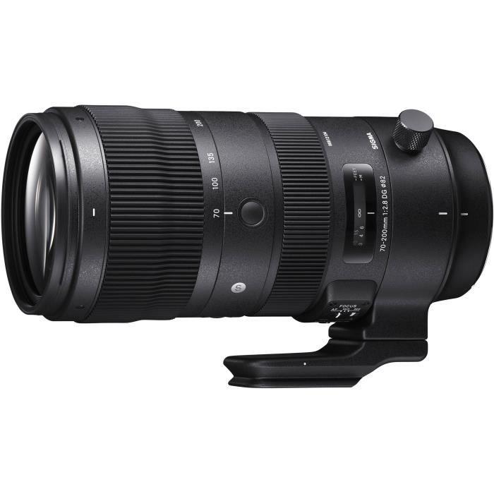 OBJECTIF SIGMA 70-200mm F2.8 DG OS HSM Sport - NIKON