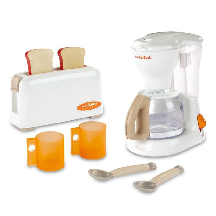 smoby coffret petit d jeuner tefal achat vente dinette cuisine cdiscount. Black Bedroom Furniture Sets. Home Design Ideas