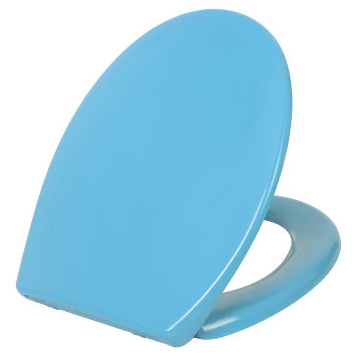 Abattant Wc Slowclip Bleu Canard Inventiv Achat Vente Abattant Wc Abattant Wc Slowclip Bleu Canard Inventiv Cdiscount