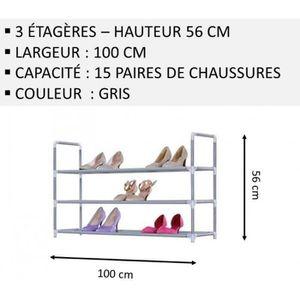 MEUBLE ÉTAGÈRE Meuble Chaussures,No56, Modulable 2 14 Étagères (1