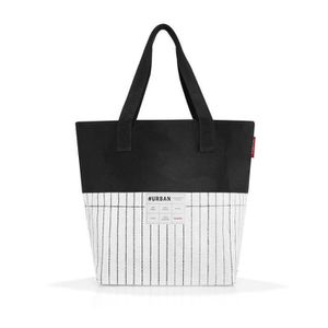 20 liters Multicolore Reisenthel Urban Sac de Sport Grand Format 64 cm Black White