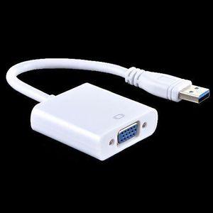 CÂBLE D'ALIMENTATION USB 3.0 vers VGA convertisseur vidéo multi-écrans