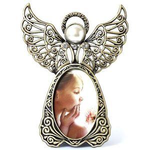 CADRE PHOTO Ailes d'ange en métal Cadres photo Vintage Cadeaux