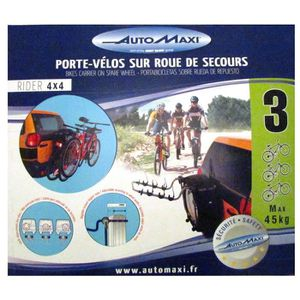 PORTE-VELO Montblanc Automaxi Rider 4 x 4Porte-vélos sur Rou