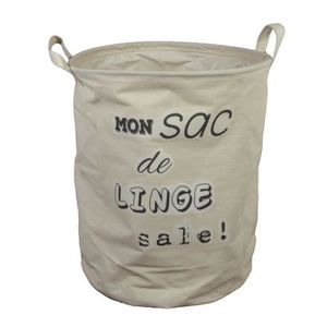 sac linge d33 h41 impression mon sac de linge sale. Black Bedroom Furniture Sets. Home Design Ideas