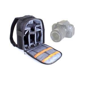 SAC PHOTO Sac à dos de rangement pour Canon SX500 IS, EOS M
