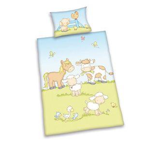 HOUSSE DE COUETTE SEULE Sweet Animals Lit à barreaux - Housse de Couette -