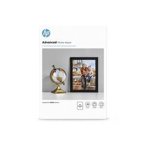 PAPIER PHOTO Papier photo HP Advanced à finition brillante - 25