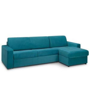 CANAPÉ - SOFA - DIVAN Canapé d'angle convertible NIGHT EDITION VELOURS r
