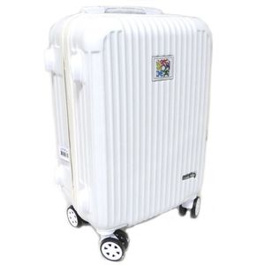 VALISE - BAGAGE Valise trolley cabine ABS 'Keith Haring' blanc - 5