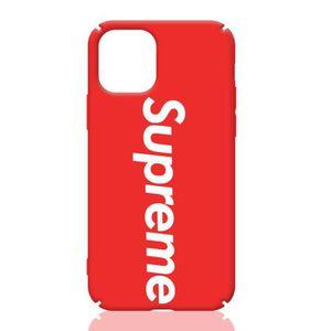 COQUE - BUMPER Coque iPhone 11,Supreme Rouge Coque Compatible iPh