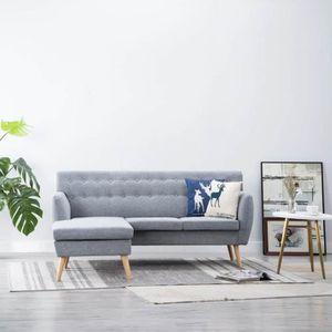 CANAPÉ - SOFA - DIVAN Canapé d'angle Canapé Chaise longue Revêtement en