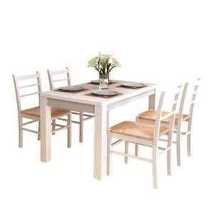 CHAISE 4pcs Chaises ergonomique de salle à manger ou de c