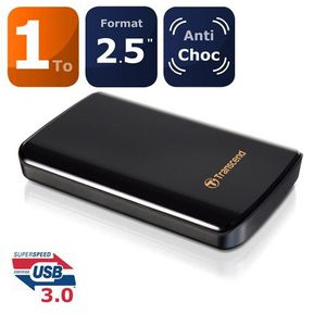"Transcend TS1TSJ25D3 1To 2.5"" USB 3.0"